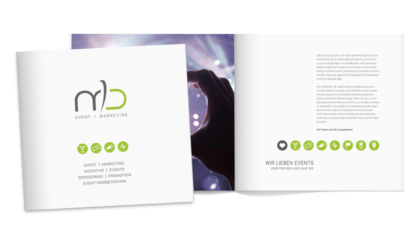Image Broschüre | MB Sports & Entertainment GmbH & Co. KG